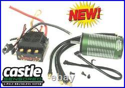 Castle Creations 1/8 Mamba Monster 2 WP ESC 2200kv Motor w Aluminum BLUE Fan