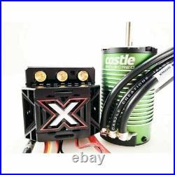 Castle Creations 1/8 Mamba Monster X ESC & 2200KV Sensored Brushless Motor COMBO