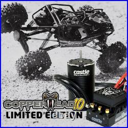 Castle Creations Copperhead 10 16.8V ESC with 1412-3200Kv Brushless Motor Combo