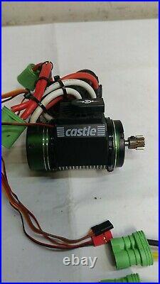 Castle Creations Mamba Monster 2 ESC with 2000kv 1515y Brushless Motor 5mm Shaft