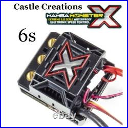 Castle Creations Mamba Monster X 6s & 2200kv Motor Combo With QS8 Series Harness