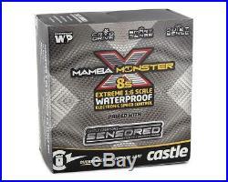 Castle Creations Mamba Monster X 8S 1/6 ESC/Motor Combo with2028 Sensored Motor