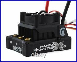 Castle Creations Mamba Monster X 8S, 33.6V ESC with 1717-1650KV Sensored Motor