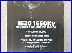 Castle Creations Mamba Monster X 8S ESC/Motor Combo with1520 Sensored Motor 1650Kv