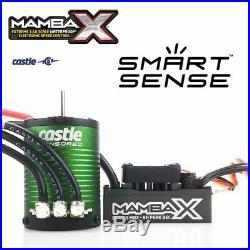 Castle Creations Mamba SCT PRO 1/10 Sensored 25.2V WP ESC /1410 3800KV Motor 5MM