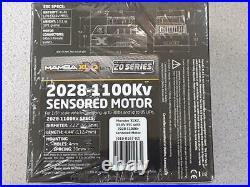 Castle Creations Mamba XLX 2 1/5 Sensored Brushless ESC/Motor Combo 1100Kv New