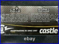 Castle Creations Mamba XLX 2 1/5 Sensored Brushless ESC/Motor Combo (800Kv) New