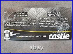 Castle Creations Mamba X 1/10 Brushless Combo with1406 Sensored Motor 7700kV New
