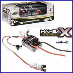Castle Creations Mamba X 1/10 Sensored 25.2V Waterproof ESC & 1406-6900KV Motor