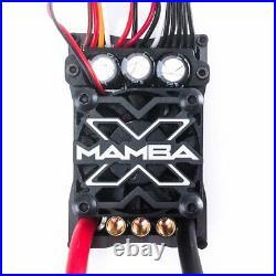 Castle Creations Mamba X 1/10th 6S Brushless Motor ESC Sensored CSE010-0155-00