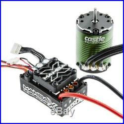 Castle Creations Mamba X 25.2V WP ESC/1406-5700kV Motor CSE010-0155-02
