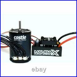 Castle Creations Mamba X Crawler ESC/1406-3800kv Sensored Brushless Motor Combo