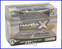 Castle Creations Mamba X SCT 1/10 Brushless Combo with1410 Sensored Motor