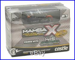 Castle Creations Mamba X SCT 1/10 Brushless Combo with1415 Sensored Motor