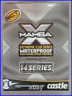 Castle Creations Mamba X SCT 1/10 Brushless Combo with1415 Sensored Motor 2400kV