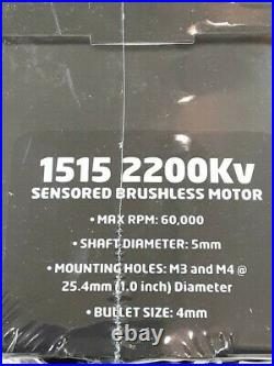 Castle Creations Mamba X Waterproof 1/8 Brushless Combo with1515 Sensored Motor