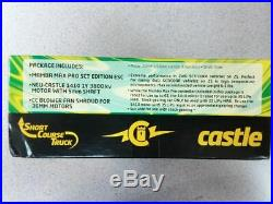 Castle Creations Max Pro SCT ESC & 3800kV Motor Combo 010-0096-00 Brand New