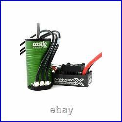 Castle Creations Monster X 1/8 Brushless Combo with1512 Sensored Motor (2650kV)