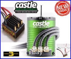 Castle Creations SV3 Waterproof 12v ESC with 1406-7700kV Sensored Brushless Motor