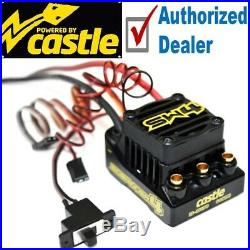 Castle Creations SW4 Sidewinder Sensorless WP ESC MT 1415 2400KV Sensor Motor