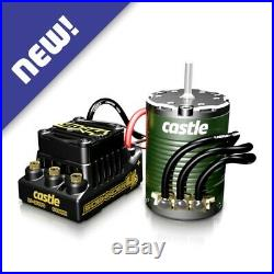 Castle Creations SW4 WP Sensorless ESC with 1406-4600K Sensor Motor Combo