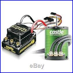 Castle Creations SW4 WP Sensorless ESC with 1406-7700 Sensor Motor Combo