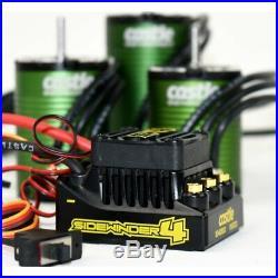 Castle Creations SW4 WP Sensorless ESC with 1415-2400kv Sensor Motor Combo