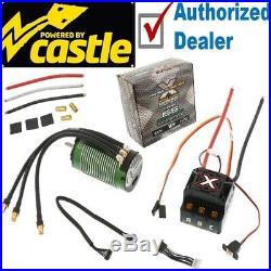 Castle Creations Sensored Mamba Monster X / MMX ESC + 1512 2650kv Motor Combo