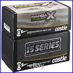Castle Creations Sensored Mamba X Waterproof ESC + 2200KV Motor E-Buggy Combo