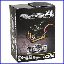 Castle Creations Sidewinder SW4 12.6V Sensorless ESC 4600kV Sensored Motor Combo