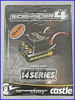 Castle Creations Sidewinder SW4 Waterproof 1/10 ESC/Motor Combo with1415 2400kV