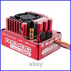 Corally C-53004 Revoc PRO Red 2-6S BL ESC 1/8 Sensred & Sensorless Motors 160A