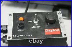 Dayton 1F798 Adjustable Speed Permanent Magnet DC Motor with 1F798H Controller