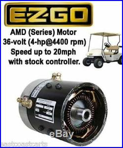 EZGO 36 volt SERIES Golf Cart High Speed Motor (20mph with stock controller)
