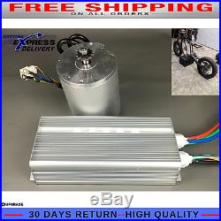 Electric 72v 3000w Bicycle Brushless Speed Motor 50A Controller E Bike Scooter