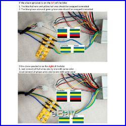 Electric Go Kart Motor Kit 48v 1800w Brushless withController Throttle 3 Speed ATV