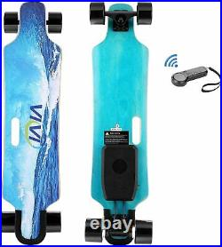 Electric Skateboard Longboard High Speed withRemote Control Motor Adult Teen Gift
