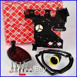FEBI 100254 Hydraulikfiltersatz Automatikgetriebe 722.6 mit Elektriksatz Stecker