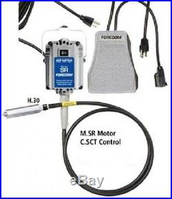 Foredom Flexshaft Kit SR Motor with SCT Speed Control and #30 Handpiece Complete