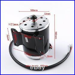 Full Kit 24V 500W Electric Motor Speed Controller ATV Go Kart e Bike Scooter Raz
