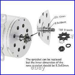 Full Set 48v 1800w Electric Motor Speed Controller Battery Throttle Gokart ATV