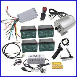 Full Set Brushless 48v 1800w Electric Motor Speed Controller Wiring Go Cart ATV