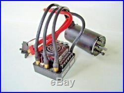 HPI Trophy Flux Truggy Brushles System Regler 101712 / Motor 101713 Neu