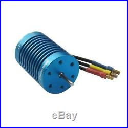 HP 60A ESC 9T 4400KV Motor Program Card Brushless Combo for 1/10 1/12 RC Cars