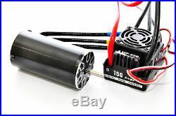 HoBao 89420WP 1/8 Waterproof 150A ESC & 2000KV Motor Set Hyper GTS / GTB / VS