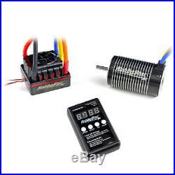 HobbyStar 1/8 Combo, 120A ESC, 4068 Brushless Sensorless Motor 1900KV + Card