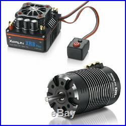 HobbyWing 38020405- 18 Brushless Combo XR8 PLUS + 4268 SD G2 1900kV Motor BU