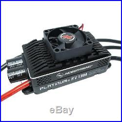 HobbyWing Platinum 130A HV V4 ESC 6S-14S BEC 5-8V@10A Regler bürstenloser Motor