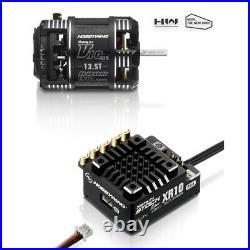 Hobbywing 38020307 XR10 Stock Spec 2S ESC + V10 G3R 13.5T Brushless Motor Combo