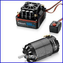 Hobbywing 38020431 Xerum XR8 Plus ESC+4274SD G3 2250KV Brushless Motor Combo A
